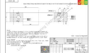 NRXT 50050DD NSK CROSSED ROLLER BEARING