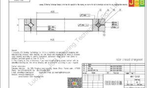 NRXT 50050E NSK CROSSED ROLLER BEARING