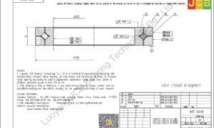 NRXT 60040E NSK CROSSED ROLLER BEARING