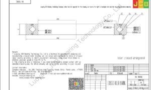 RA 11008C THK CROSSED ROLLER BEARING