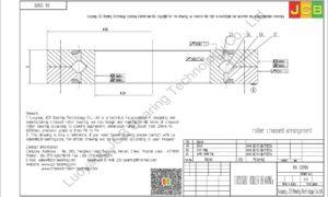 RA 12008 THK CROSSED ROLLER BEARING