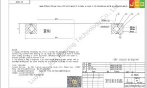 RA 13008C THK CROSSED ROLLER BEARING
