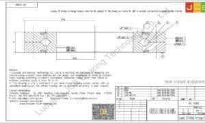 RA 14008 THK CROSSED ROLLER BEARING
