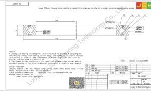 RA 14008C THK CROSSED ROLLER BEARING