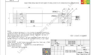 RA 18013 THK CROSSED ROLLER BEARING