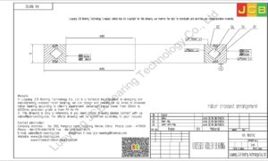 RA 18013C THK CROSSED ROLLER BEARING