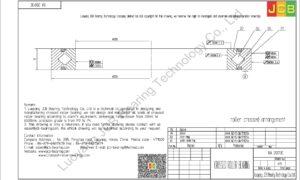 RA 20013C THK CROSSED ROLLER BEARING