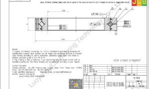 RB 10016 THK CROSSED ROLLER BEARING