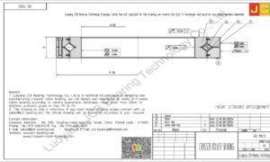 RB 11012 THK CROSSED ROLLER BEARING