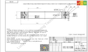 RB 11015 THK CROSSED ROLLER BEARING