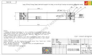 RB 12016 THK CROSSED ROLLER BEARING