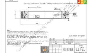 RB 13015 THK CROSSED ROLLER BEARING