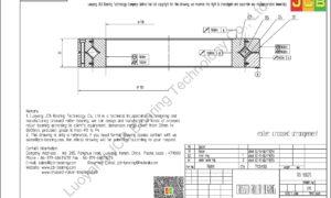RB 13025 THK CROSSED ROLLER BEARING