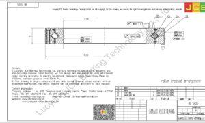 RB 15025 THK CROSSED ROLLER BEARING