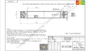 RB 15025USP THK CROSSED ROLLER BEARING