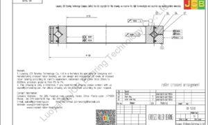 RB 15030 THK CROSSED ROLLER BEARING