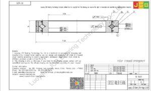 RB 16025 THK CROSSED ROLLER BEARING