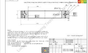 RB 18025 THK CROSSED ROLLER BEARING
