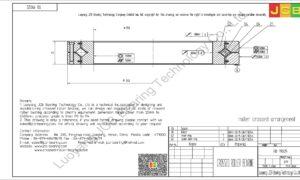 RB 19025 THK CROSSED ROLLER BEARING