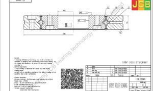 XSU 080168 of INA cross roller bearing