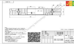 XSU 080188 of INA cross roller bearing