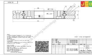 XSU 080218 of INA cross roller bearing