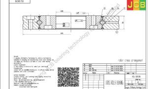 XSU 080318 of INA cross roller bearing