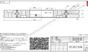 XSU 080398 INA CROSS ROLLER BEARING