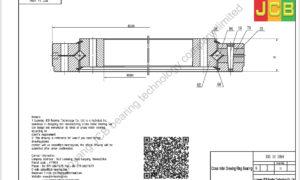 XSU 14 1094 INA CROSS ROLLER BEARING