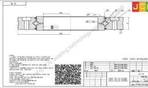 XV 110 of INA cross roller bearing
