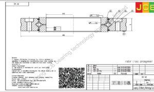 XV 40 of INA cross roller bearing