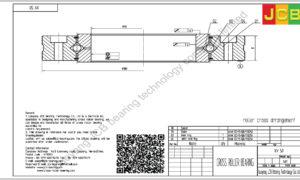 XV 50 of INA cross roller bearing