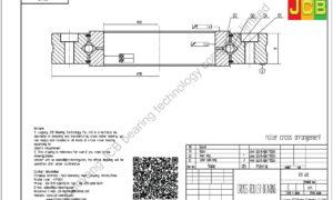XV 60 of INA cross roller bearing