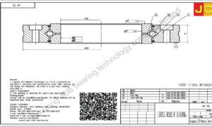 XV 70 of INA cross roller bearing