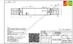 XV 80 of INA cross roller bearing