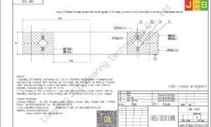 CRBC 11020 IKO CROSSED ROLLER BEARING