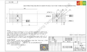 CRBC 7013 IKO CROSSED ROLLER BEARING