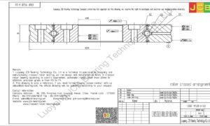 CRBF 11528 A UU IKO CROSSED ROLLER BEARING