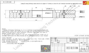 CRBF 8022 A UU IKO CROSSED ROLLER BEARING