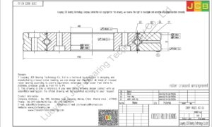 CRBF 8022 AD UU IKO CROSSED ROLLER BEARING