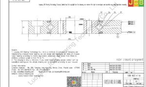 CRBF 8022 AT UU IKO CROSSED ROLLER BEARING
